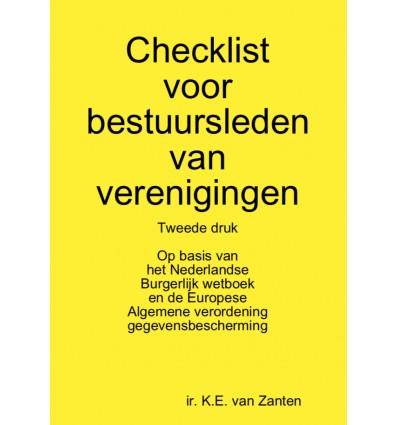 Checklist voor bestuursleden van verenigingen